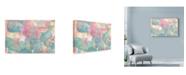 """Trademark Global Marietta Cohen Art And Design 'Pink Succulents' Canvas Art - 47"""" x 30"""""""