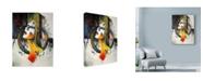 "Trademark Global Minjae 'Between Hope And Despair' Canvas Art - 35"" x 47"""