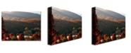 "Trademark Global MCat 'Glorious Greeting' Canvas Art - 47"" x 35"""