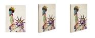 "Trademark Global Michael Tompsett 'Statue of Liberty' Canvas Art - 32"" x 24"""