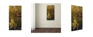 """Trademark Global Kurt Shaffer 'Reds and Yellows of Autumn' Canvas Art - 24"""" x 47"""""""