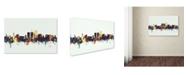 "Trademark Global Michael Tompsett 'Tucson Arizona Skyline II' Canvas Art - 12"" x 19"""