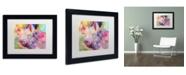 """Trademark Global Richard Wallich 'Piggy' Matted Framed Art - 11"""" x 14"""""""