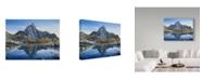"Trademark Global Jeff Tift 'Prusik Peak' Canvas Art - 14"" x 19"""