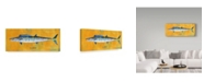 "Trademark Global John W. Golden 'Wahoo' Canvas Art - 14"" x 32"""