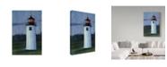 "Trademark Global Rusty Frentner 'Lighthouse' Canvas Art - 12"" x 19"""