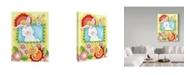 "Trademark Global Valarie Wade 'Spring Bunny' Canvas Art - 14"" x 19"""