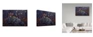 "Trademark Global Wilhelm Goebel 'Rock N Roll' Canvas Art - 12"" x 19"""