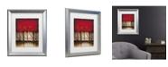"Trademark Global Masters Fine Art 'Serenade In Red' Matted Framed Art - 16"" x 20"""