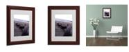 """Trademark Global Monica Fleet 'Boundless' Matted Framed Art - 14"""" x 11"""""""