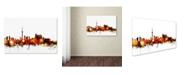 "Trademark Global Michael Tompsett 'Toronto Canada Skyline III' Canvas Art - 12"" x 19"""