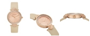 Versus by Versace Versus Women's Beige Strap Watch 18mm