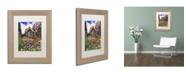 "Trademark Global David Lloyd Glover 'The Painter's Studio' Matted Framed Art - 11"" x 14"""
