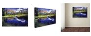 "Trademark Global David Lloyd Glover 'Reflections in Solitude' Canvas Art - 18"" x 24"""