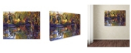 "Trademark Global David Lloyd Glover 'Tapestry Reflection' Canvas Art - 35"" x 47"""