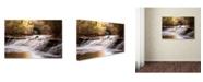 "Trademark Global Jason Shaffer 'Avon Falls' Canvas Art - 32"" x 22"""