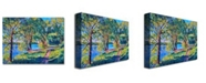 "Trademark Global David Lloyd Glover 'Summers Lake' Canvas Art - 47"" x 35"""