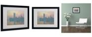 "Trademark Global Claude Monet 'The Houses of Parliament' Matted Framed Art - 20"" x 16"""