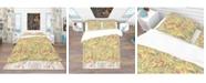 Design Art Designart 'Brightly Colored Feathers' Southwestern Duvet Cover Set - Queen