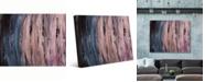 "Creative Gallery Night Rise Gamma Abstract Portrait Metal Wall Art Print - 24"" x 36"""