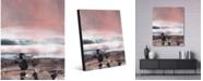 "Creative Gallery Misty Earth Beta Abstract Portrait Metal Wall Art Print - 24"" x 36"""