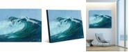 "Creative Gallery torrent Misty Wave Portrait Metal Wall Art Print - 16"" x 20"""
