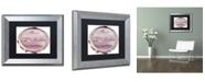 "Trademark Global Color Bakery 'Paris in Frames 6' Matted Framed Art - 11"" x 14"""
