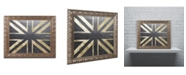 "Trademark Global Color Bakery 'Fashion Flag IV' Ornate Framed Art - 16"" x 20"""