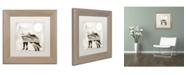 "Trademark Global Color Bakery 'Going Wild IV' Matted Framed Art - 11"" x 11"""