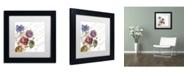 """Trademark Global Color Bakery 'La Belle Vie I' Matted Framed Art - 11"""" x 11"""""""