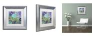 "Trademark Global Color Bakery 'Kismet' Matted Framed Art - 11"" x 11"""
