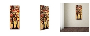 "Trademark Global Natasha Wescoat '012' Canvas Art - 8"" x 19"""