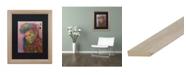 "Trademark Global Dean Russo 'Purple King' Matted Framed Art - 16"" x 20"""