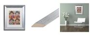 "Trademark Global Dean Russo 'Sinatra Quadrant' Matted Framed Art - 11"" x 14"""
