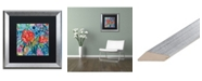 """Trademark Global Carrie Schmitt 'Drishti' Matted Framed Art - 16"""" x 16"""""""