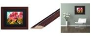"Trademark Global Natasha Wescoat 'Cherry Blossom Willow' Matted Framed Art - 11"" x 14"""