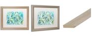 """Trademark Global Carrie Schmitt 'Ujjayi Pranayama' Matted Framed Art - 16"""" x 20"""""""