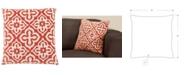 "Monarch Specialties 18"" x 18"" Motif Design Pillow"