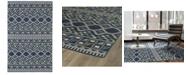 """Kaleen Nomad NOM08-17 Blue 3'6"""" x 5'6"""" Area Rug"""