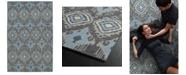"Kaleen Relic RLC06-38 Charcoal 5'6"" x 8'6"" Area Rug"
