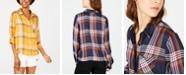 Ultra Flirt Juniors' Plaid Shirt