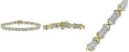 Macy's Diamond Tennis Bracelet (3 ct. t.w.) in 10k Gold