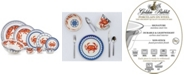 Golden Rabbit Crab House Enamelware Collection