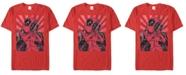 Marvel Men's Deadpool Close To The Heart Short Sleeve T-Shirt