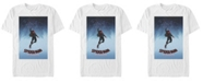 Marvel Men's Spider-Man Into The Spiderverse Up, Up, and Away Short Sleeve T-Shirt