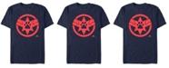 Marvel Men's Captain Marvel Goose The Cat Paw Logo Short Sleeve T-Shirt