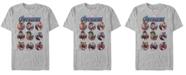Marvel Men's Avengers Endgame Heroic Group Bubbles Short Sleeve T-Shirt