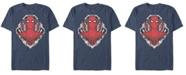 Marvel Men's Spider-Man Morphed Spidey Tech Badge Short Sleeve T-Shirt