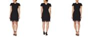 Betsey Johnson Petite Embellished Sheath Dress