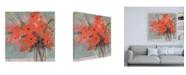 "Trademark Global Sheila Golden The Glass Vase Canvas Art - 19.5"" x 26"""
